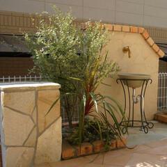 ESTINA/エスティナ/外構/ガーデン/エクステリア/庭/... 庭のテイストに合わせてデザインすることで…