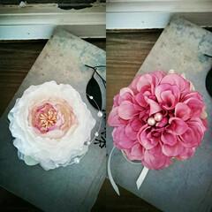 卒園式/卒業式/入園式/入学式/コサージュ/お花 フラワー/... 今日のコサージュレッスン♪ シンプルに。…