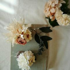 コサージュ/卒業式/入園式/入学式/卒園式/お花 フラワー/... 今日はコサージュのレッスンでした🎵  お…