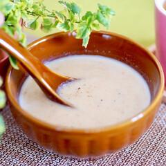 里芋/ポタージュ/簡単レシピ/スープ 副菜:とろーり里芋のポタージュ ★材料(…