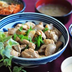 おうちごはん/鶏肉/大根/煮もの/レシピ/簡単レシピ/... 「鶏肉と大根の柔らか照り煮」のレシピがL…