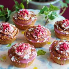 バレンタイン/バレンタインデー/ホワイトチョコレート/クランベリー/スイーツ/手作りお菓子/... 友チョコ用のバレンタインデースイーツです…