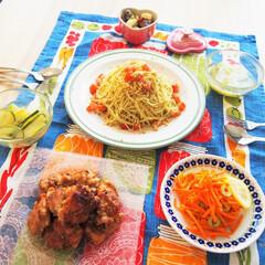 夜ご飯/料理研究家/アンナのキッチン/わたしのごはん ドイツで作る夜ご飯です。 ジェノベーゼの…