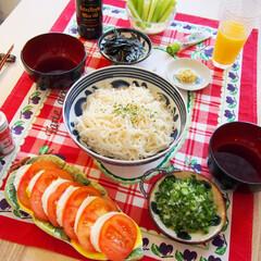 ドイツ/素麺/麺/料理研究家/アンナのキッチン/わたしのごはん 今週から暖かくなってきたドイツ。 サッパ…