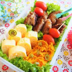 ピクニック/お弁当/卵焼き/唐揚げ/鶏肉/作り置き/... ピクニックに行くときのお弁当です♪ 鶏の…