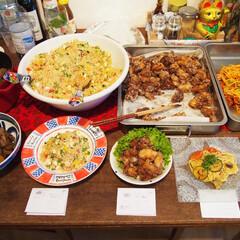 料理/ドイツ/作り置き/アンナのキッチン/ホームパーティ/わたしのごはん お友達を招いて、ホームパーティを開催しま…