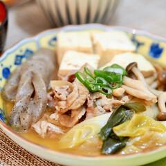 肉豆腐/簡単レシピ/豆腐/豚肉/免疫力/きのこ 主菜:野菜が美味しい肉豆腐 ★材料(4人…(1枚目)