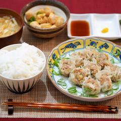 焼売/夜ご飯/簡単レシピ 主菜:フライパンでできる手作り焼売 ・豚…(1枚目)