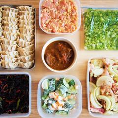 作り置き/常備菜/ドイツ/料理/アンナのキッチン/わたしのごはん ドイツで作る作り置きです! ★キャベツた…(1枚目)