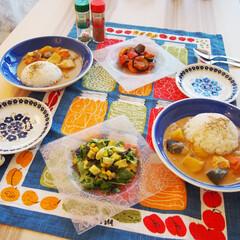 料理研究家/夜ご飯/料理/簡単/時短/アンナのキッチン/... ドイツで作る夜ご飯♡ ★イエローカレー …