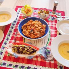 サラダ/夜ご飯/ポタージュ/今日の夜ご飯/ドイツ/料理研究家/... ドイツで作るアンナのキッチンの夜ご飯です…