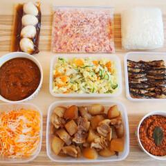 作り置き/常備菜/つくおき/簡単レシピ/時短/料理研究家/... 一週間の作り置きです♪ ★煮卵 ★カット…