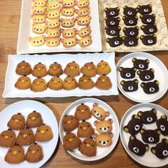 手作りクッキー/フード/グルメ リラックマ&コリラックマ&キイロイトリ …