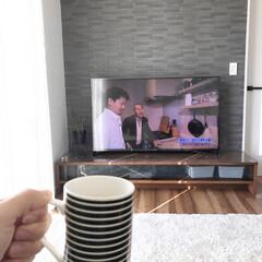 Panasonic照明/シストS+ワン/マスターウォール/リクシルエコカラット/建物探訪/至福のひととき コーヒー飲みながら再放送の建物探訪を見る…