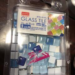 ガラスタイル/キャンディポットリメイク/花瓶/雑貨/DIY/インテリア/... DAISOさんをウロウロしてて見つけたキ…(4枚目)