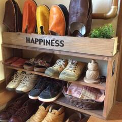 「面倒くさがりやが多い我が家。なかなか靴箱…」(1枚目)