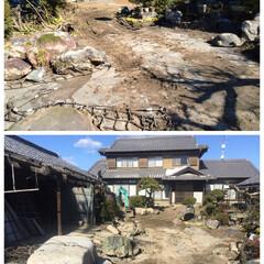 稲沢市/揖斐川庭石センター/庭/庭石処分/庭石 いい天気で、仕事も捗るわ〜(*´Д`*)…