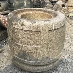 石造品/水鉢 「岡崎産 袈裟型手水鉢」  さすが岡崎産…