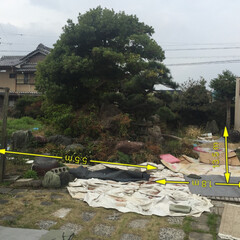 庭石の処分 中川区の方から、お庭の解体のお見積もり依…(1枚目)