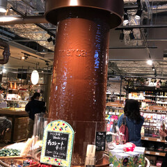チョコレート専門店 ルクアの地下にチョコレート専門店があって…
