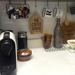 キッチン カフェ風 コーヒーメーカ... キッチン✦ฺ(1枚目)