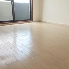 床/フローリング/遮音/防音/ホワイト/ホワイトオーク/... マンションの床張替え。 遮音フローリング…