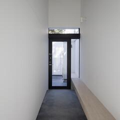 建築/住まい/シンプル住宅/建築家と作る家/建築家と作った家/ミニマルデザイン/... 玄関
