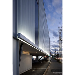建築/住まい/建築デザイン/注文住宅/シンプル住宅 ワンちゃんのためのトリミングルームのある家(1枚目)