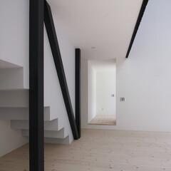 建築/住まい/建築デザイン/シンプル住宅/注文住宅 ミニマルな室内 OUCHI-10