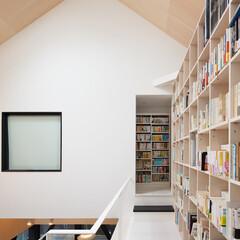 建築/住まい/建築デザイン/シンプル住宅/注文住宅 好きな本がびっしり OUCHI-26