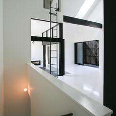 建築/住まい/建築デザイン/シンプル住宅/注文住宅 ロフトのあるリビング OUCHI-02 …