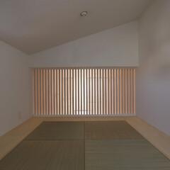 建築/住まい/建築デザイン/注文住宅/シンプル住宅 小屋裏の和室 OUCHI-09さいたまの家(1枚目)