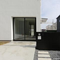 建築/住まい/建築デザイン/注文住宅/シンプル住宅 将来、小さなお店を開けるように、とのご希…(1枚目)