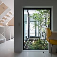 建築/住まい/建築デザイン/注文住宅/シンプル住宅 ちいさな仕事室は奥様用 OUCHI-32