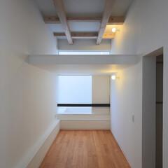 建築/住まい/建築デザイン/注文住宅/シンプル住宅 ロフトのある子供室 OUCHI-30