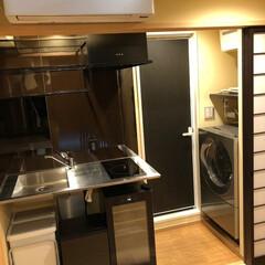 リノベーション/マンション/キッチン/スケルトン 築40年のワンルームマンションをリノベー…