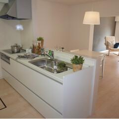 マンション/リノベーション/キッチン 壁を取りはらいオープンキッチンにしました…