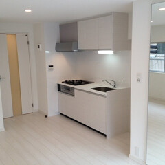リノベーション/キッチン 築40年のマンション2DKをフルリノベー…