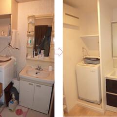 リノベーション/洗面 リノベーションで洗面室もスッキリしました。