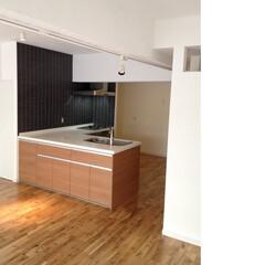 リノベーション/マンション/キッチン 築35年のマンションをスケルトンリノベー…