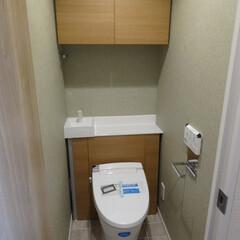 マンション/トイレ/リノベーション リノベーションで築35年のマンションをス…
