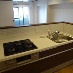 リノベーション/マンション/キッチン 閉鎖されていた空間をオープンキッチンにし…
