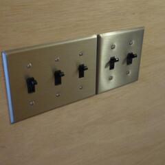 リノベーション/マンション/スイッチ リノベーションでスイッチをデザイン重視で…