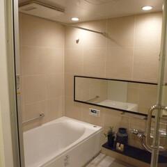 風呂/リノベーション/マンション/戸建て リノベーションで風呂も明るくて清潔な空間…