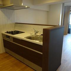 リノベーション/オープンキッチン 築38年のマンションをスケルトンリノベー…