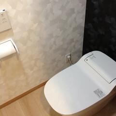 リノベーション/トイレ リノベーションでタンクレストイレになり、…