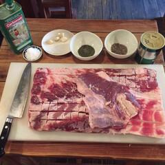 イタリアン/豚肉/ポルケッタ/ローストポーク/料理 ポルケッタを作るの巻