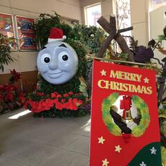 トーマス/京阪電車/クリスマスパーティ 息子の大好きなトーマスのクリスマスパーテ…
