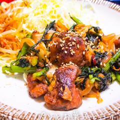 レバー/レバーの下処理/臭み取り/下処理/鶏レバー/味噌炒め/... 春菊と鶏レバーの味噌炒め。簡単で、臭みゼ…