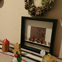 お正月/雑貨/住まい/玄関/ハンドメイド お正月versionの玄関です。 手作り…